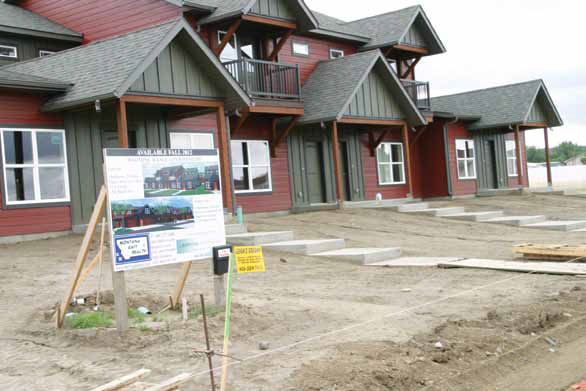 New housing: Wyoming Avenue Condominiums to be ready in Glendive, Mont. in fall 2012.