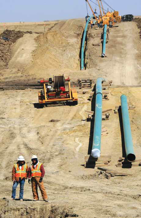 This summer, WBI Energy completed construction of the Stateline Pipeline, connecting the output of the two natural gas processing plants to the Northern Border Pipeline and pushing the company's maximum pipeline capacity over the one billion cubic feet per day mark.