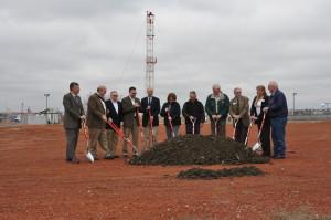 Groundbreaking of the new Williston High School.