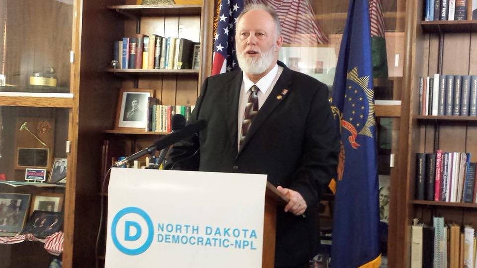 Democrat Marvin Nelson, who will be running against Republican Doug Burgam for North Dakota governor this upcoming November. Photo courtesy of official site.