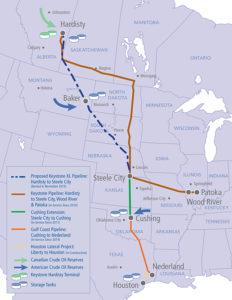 Construction of the Dakota Access Pipeline in South Dakota.